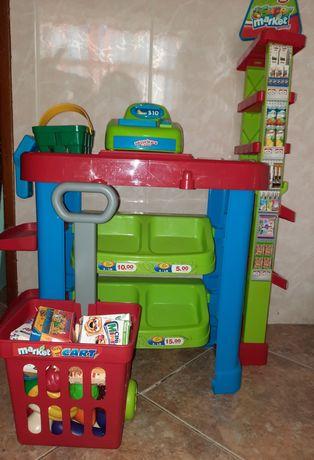 Supermercado de criança brincar