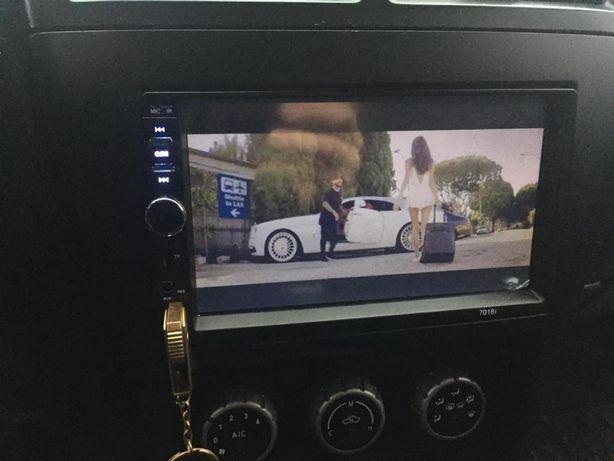 Auto-Rádio 2 Din Universal/Touchscreen/Full-HD/60x4w NOVO