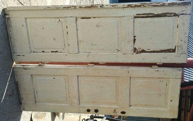 drzwi wejściowe z dworku bez korników do renowacji podwójne h194x62x2
