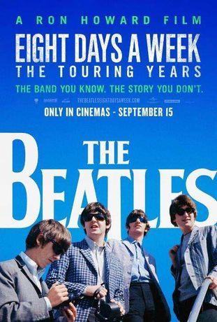 DVD The BEATLES Eight Days a Week, A Ron Howard Film (NOVO)