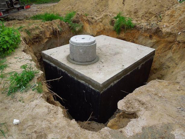 Szamba betonowe,Zbiornik betonowy na szambo, Zbiorniki na deszczówkę