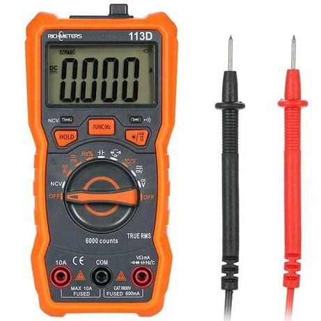 Тестер Richmeters 113D мультиметр вольтметр