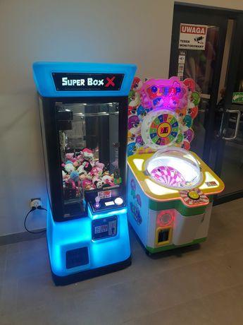 Łapa szczęścia, boxer, cymbergaj, automaty, gry