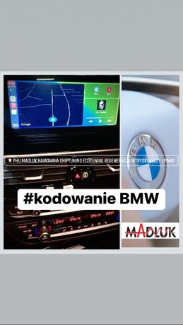 Kodowanie BMW F G Apple CarPlay Navi Screen Mirroring
