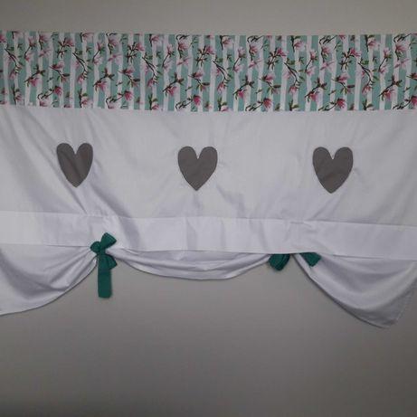 nowa firana , panel bawelniany do pokoju dzieciecego.