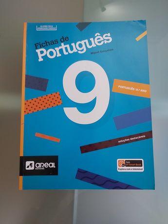 Livro escolar Fichas de Português 9.ano
