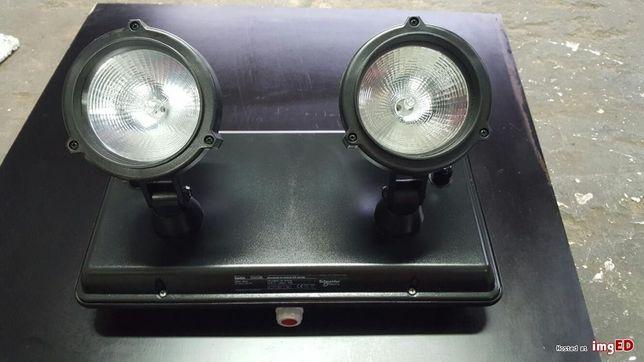 schneider lampa halogenowa oświetlenia awaryjnego