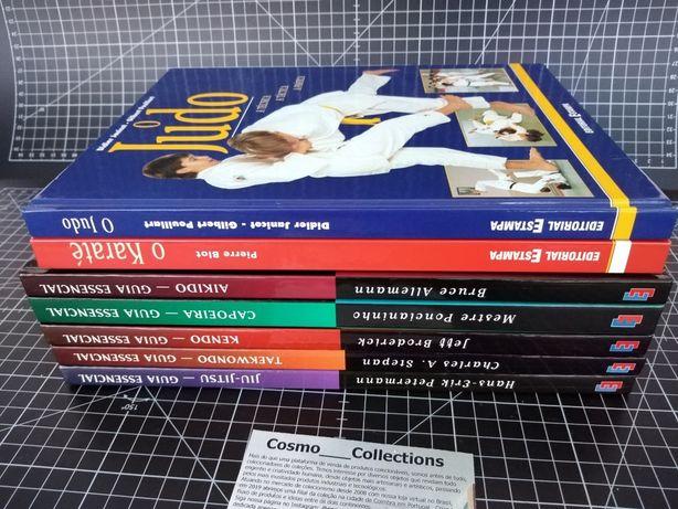 Artes Marciais. Jiu-jitsu, judo, karaté, kendo, aikido, taekwondo