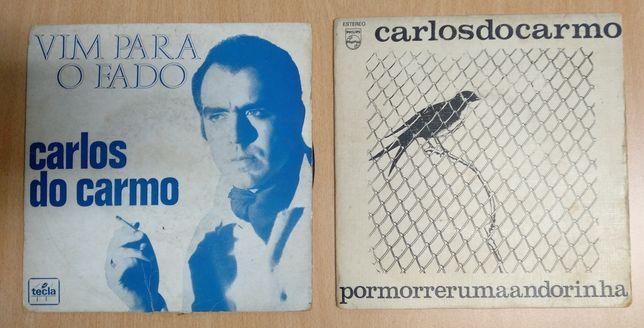 2 Singles do cantor Carlos do Carmo