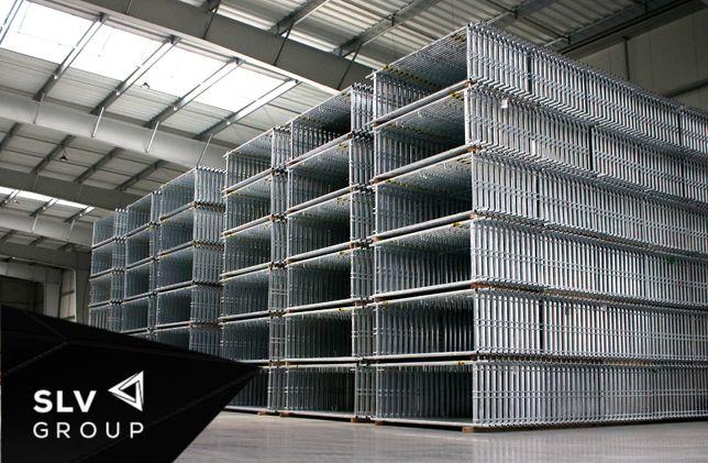 Fasada Rusztowanie Elewacyjne Certyfikat DTR 321,3 m2 Plettac