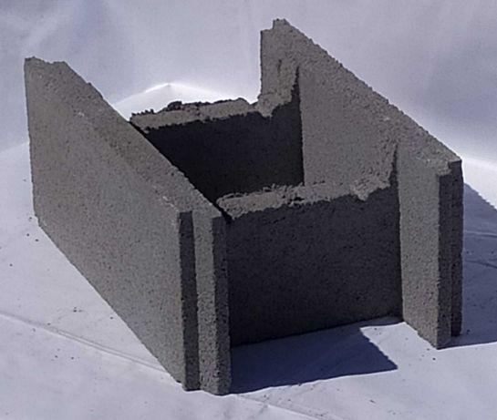 Фундаментный блок (несъёмная опалубка)