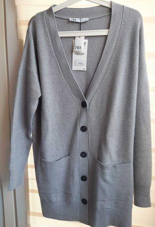 Sweter kardigan Zara S - nowy