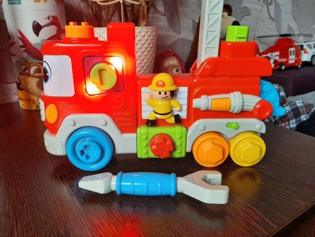 """Интерактивная машинка """"Маленький пожарник"""" в подарок книга сказок нова"""