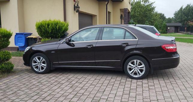 Mercedes E   W212   benzyna przebieg - tylko 50 000 km -  salon PL