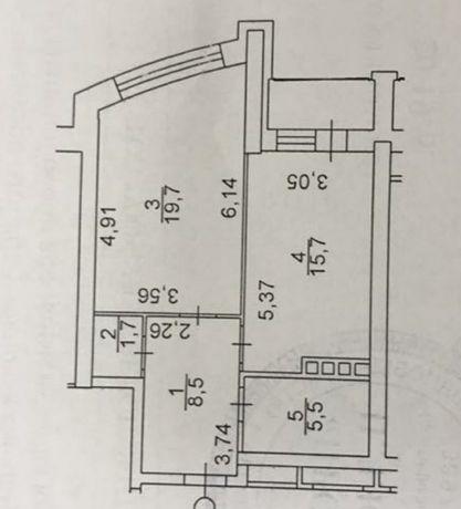 Продажа 1-комнатной квартиры в жк Солнечная Ривьера 54 кв.м.