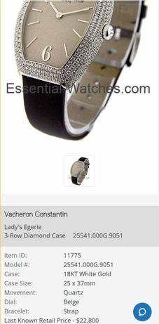 Часы Vacheron Constantin золото бриллианты