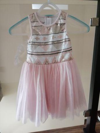 Sukienki dziewczynka 110-116