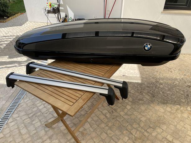 Mala tejadilho e barras BMW 320 litros