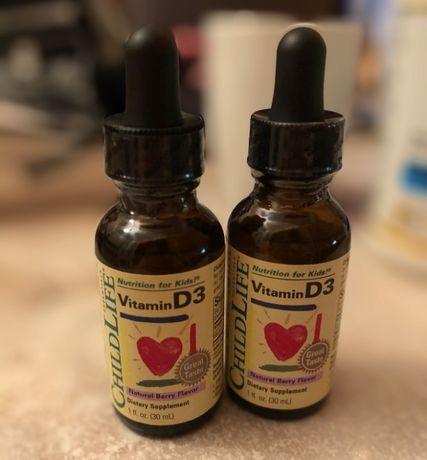 Витамин Д3 для детей ChildLife