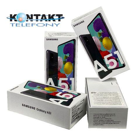 Nowy Samsung Galaxy A51 Blue White, GW 24M, PL DYS, Sklep Gdynia centr