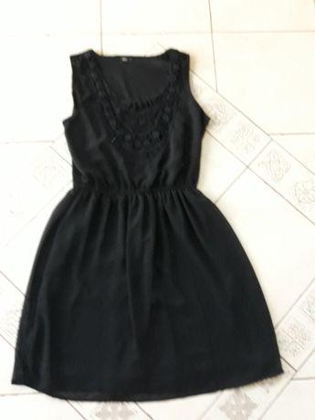 UBRANIA ZA GROSZE ! Śliczna czarna sukienka ONLY rozmiar 36