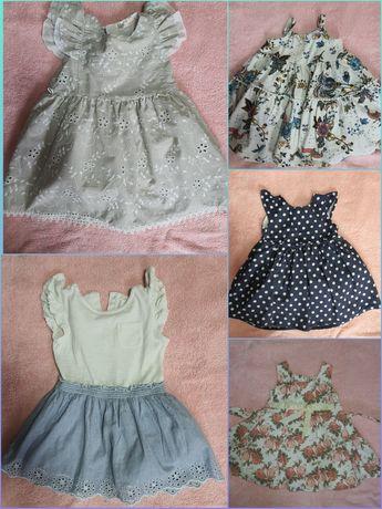 Платья NEXT, mothercare 9-12-18мес