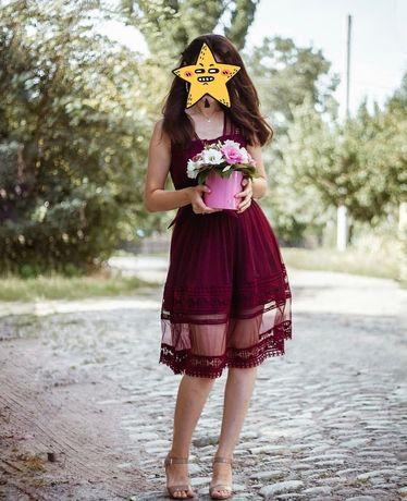 Платье нарядное для дружки выпускное