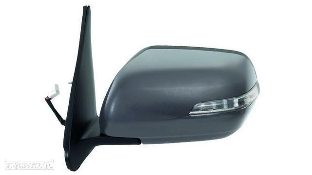 Espelho Esquerdo Suzuki Grand Vitara 06-09 Rebativel C/ Pisca