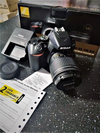 Nikon D3500+ Obiektyw AF-P DX 18-55mm VR [Jak nowy]