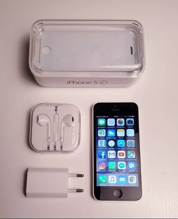 iPhone 5c Branco Vodafone Olivais - imagem 1