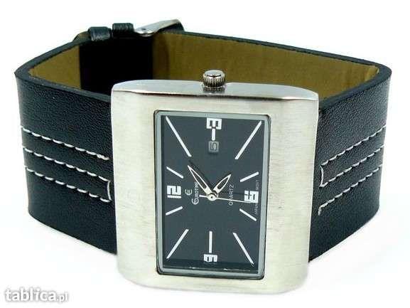 SUPER CENA!Piękny zegarek NOWY na Prezent z DATĄ 2kolory! OKAZJA!