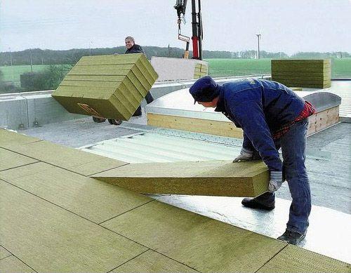Wełna mineralna na dach płaski 15cm 150mm twarda KIERMASZ