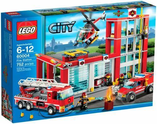 LEGO City: Лего Пожарная часть 60004 продам