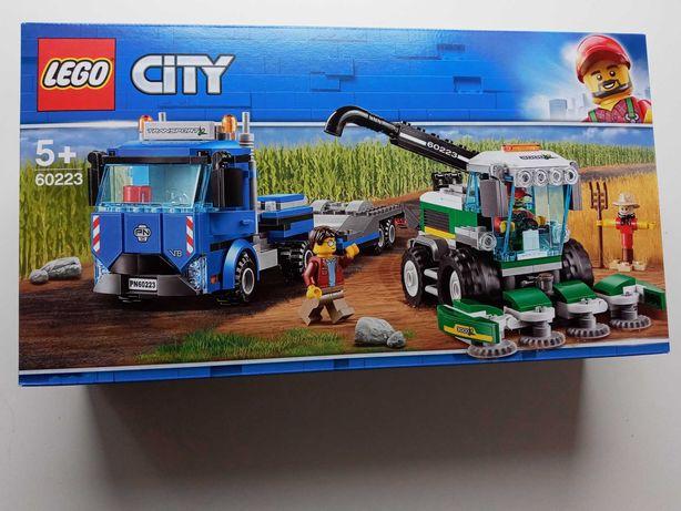 Lego City nowe 60223 transporter kombajnu