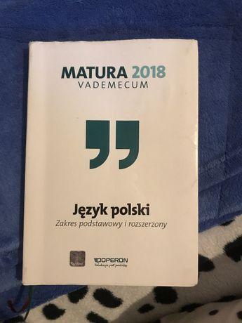 Vademecum matura 2018 język polski