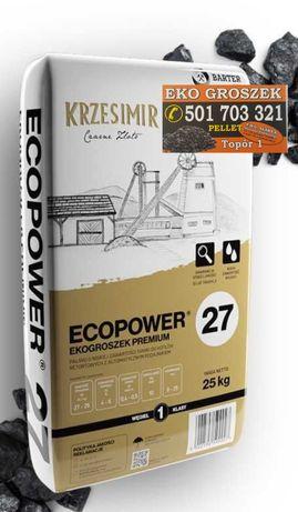 Węgiel Ekogroszek Krzesimir 27 mj/kg od Slawex