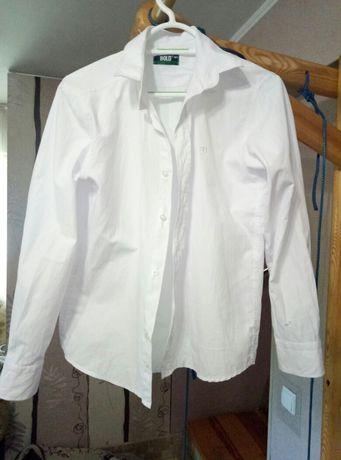 Белоснежная Турецкая рубашка 158-164р