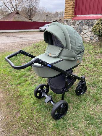 Детская коляска Adamex baby pram  Lux 2 в 1