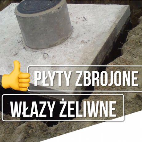 Szambo betonowe 10m Deszczówka Gnojówka dostawa Czeremcha Mielnik Orla