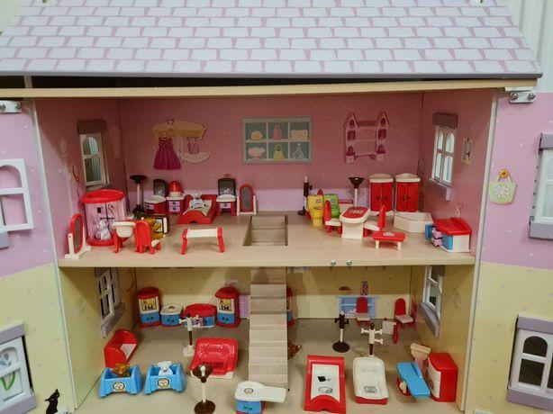Кукольный домик Le Toy Van Софи с мебелью как новый