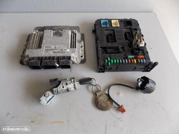 citroen berlingo  1.6HDI de 2009 centralina completa com BSI ,chave e chip