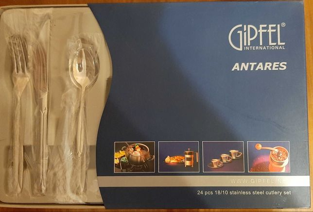 Набор столовых приборов Gipfel Antares 24шт.