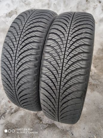 185/65r15 Goodyear Vector 4Seasons G2 7mm PARA stan idealny