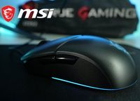 Шустрая! игровая мышка MSI Clutch GM11  +гарантия  RGB/USB/ПК/GM10