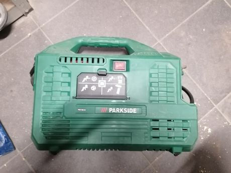 Kompresor Parkside bezolejowy z manometrem 1100 W PKZ 180