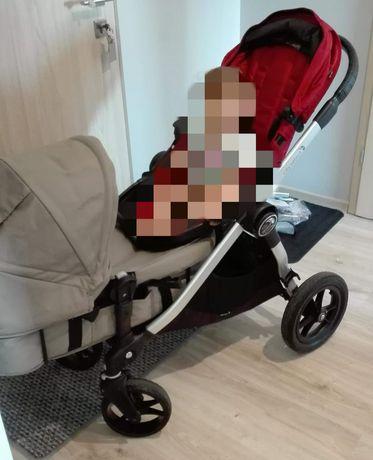 Wózek bliźniaczy, rok po roku Baby jogger city select