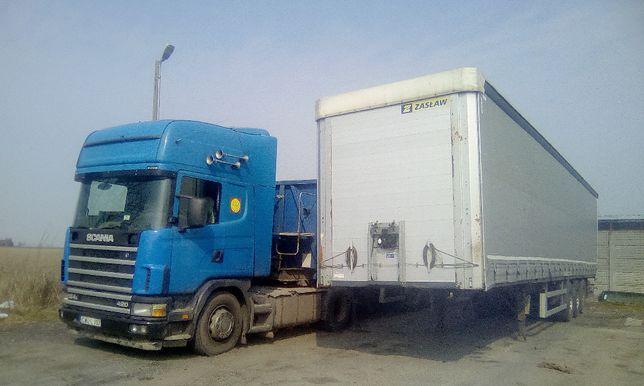 trasport ciężarowy tir firanka łódka usługi