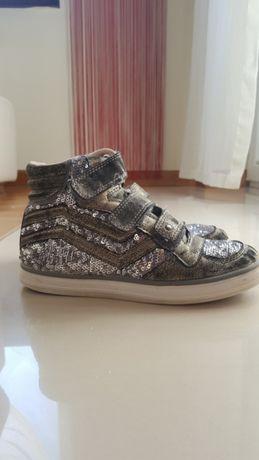 Skórzane buty r.33