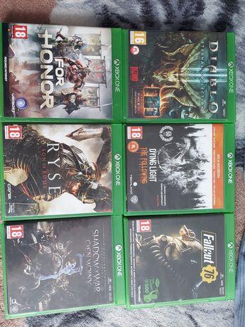 Sprzedam gry na Xbox one