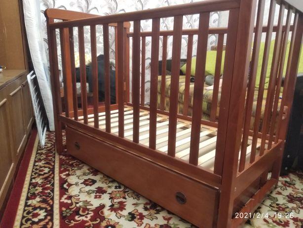 Детская кроватка Верес Veres с маятником
